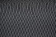 Fiat 500 black and grey Cordura checkboard seat fabric